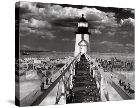 The Road to Enlightenment-Thomas Barbey-Stretched Canvas Print