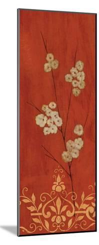 Sienna Flowers II-Fernando Leal-Mounted Art Print