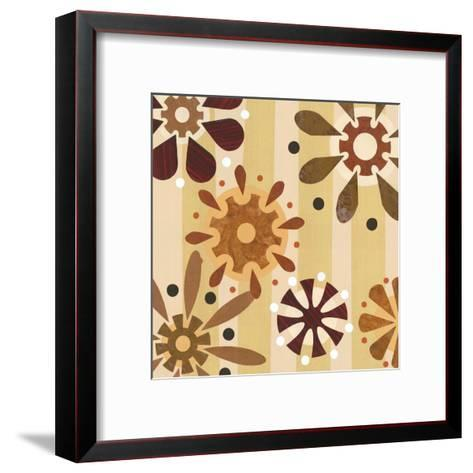 Petals III-Savely-Framed Art Print