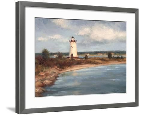 Edgartown Lighthouse-Todd Williams-Framed Art Print