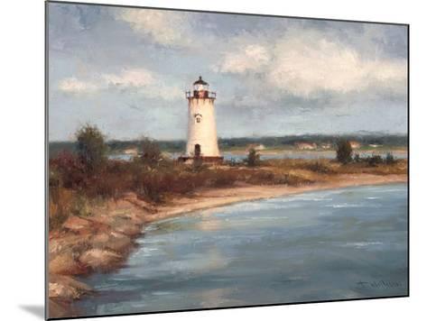 Edgartown Lighthouse-Todd Williams-Mounted Art Print