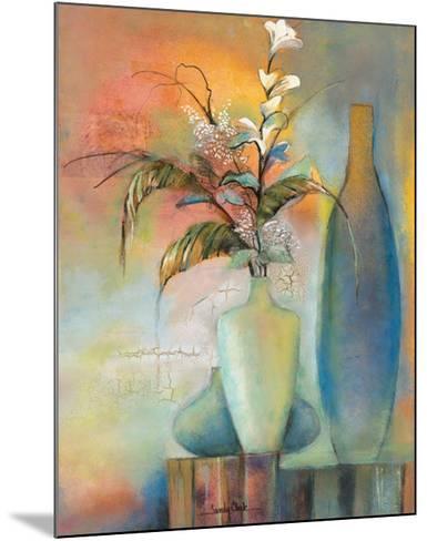 Floral Fantasy I-Sandy Clark-Mounted Art Print