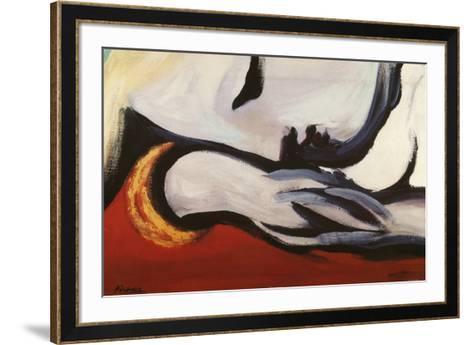 Rest-Pablo Picasso-Framed Art Print
