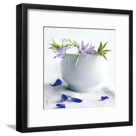 Bellflowers-Amelie Vuillon-Framed Art Print