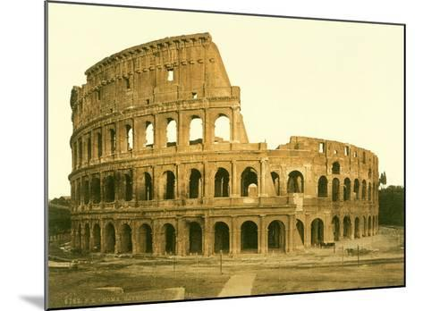 The Colosseum, Rome--Mounted Giclee Print