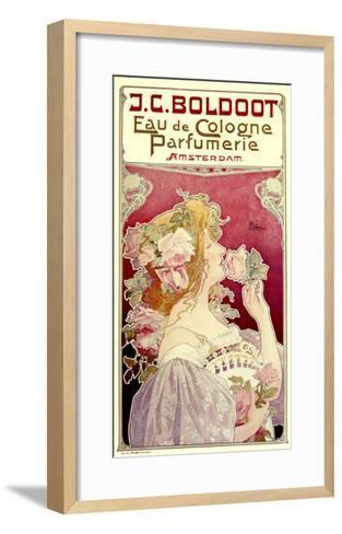 Boldoot Cologne Perfume--Framed Art Print