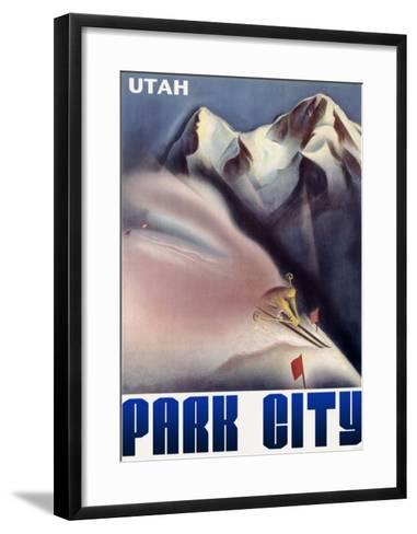 Park City Utah Mountain--Framed Art Print