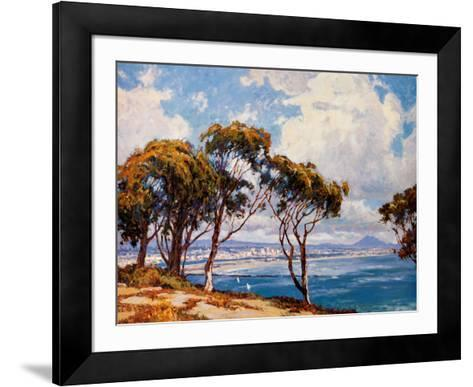 San Diego from Point Loma-John Comer-Framed Art Print
