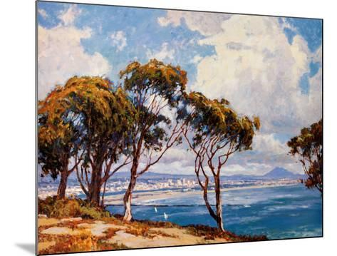 San Diego from Point Loma-John Comer-Mounted Art Print