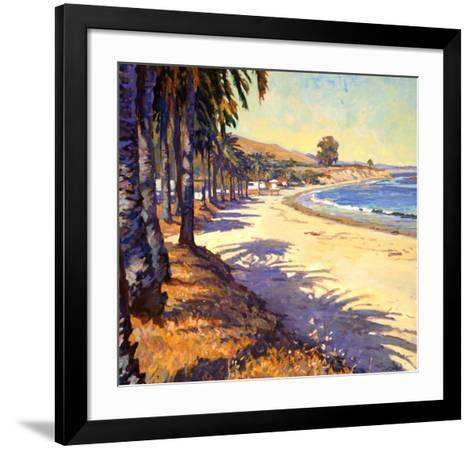 Refugio Beach-John Comer-Framed Art Print