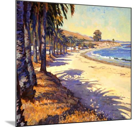 Refugio Beach-John Comer-Mounted Art Print