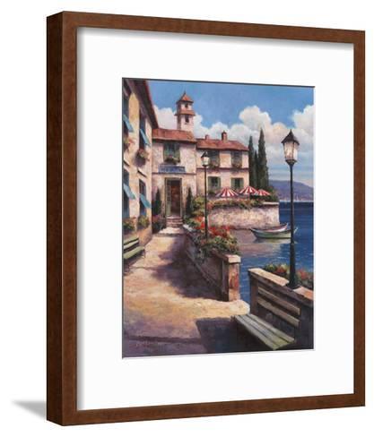 Mediterranean Villa I-T^ C^ Chiu-Framed Art Print