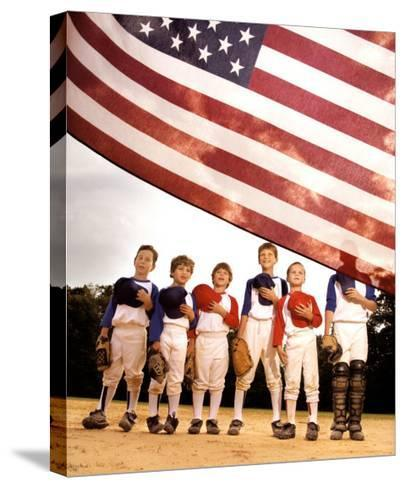 Pride: American Flag--Stretched Canvas Print