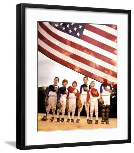 Pride: American Flag--Framed Art Print