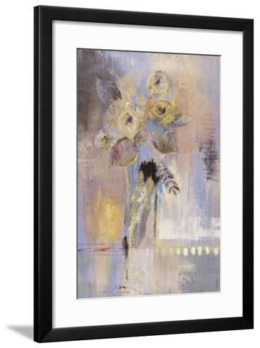 Floral View II-Jennifer Hollack-Framed Art Print