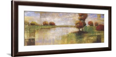 Serene Lake-Albert Williams-Framed Art Print