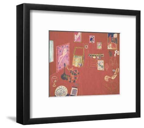 The Red Studio, 1911-Henri Matisse-Framed Art Print