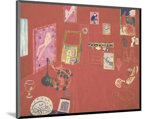 The Red Studio, 1911-Henri Matisse-Mounted Art Print