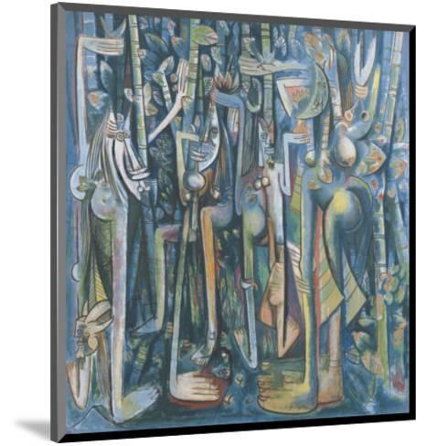 The Jungle, 1943-Wilfredo Lam-Mounted Art Print