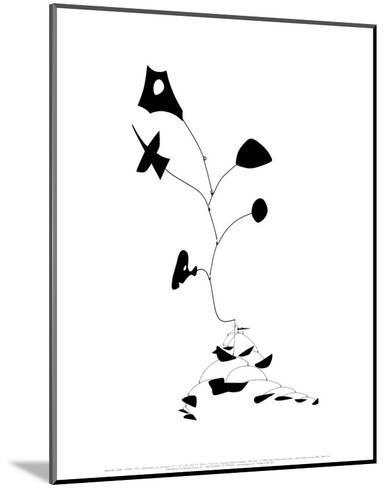 Untitled, 1945-Alexander Calder-Mounted Art Print