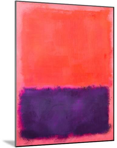 Untitled, c.1961-Mark Rothko-Mounted Art Print