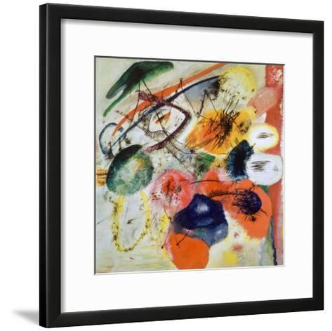 Black Lines, c.1913-Wassily Kandinsky-Framed Art Print