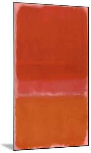 No. 37, c.1956-Mark Rothko-Mounted Art Print