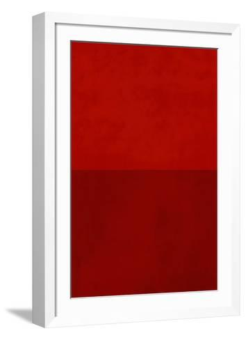 Monochrome Red, c.2005-Vlado Fieri-Framed Art Print