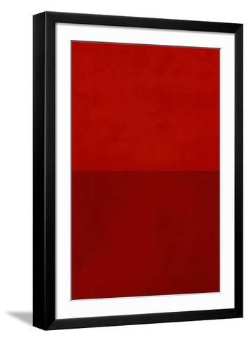 Monochrome Red, c.2005-Vlado Fieri-Framed Art Print