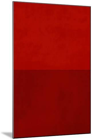Monochrome Red, c.2005-Vlado Fieri-Mounted Serigraph