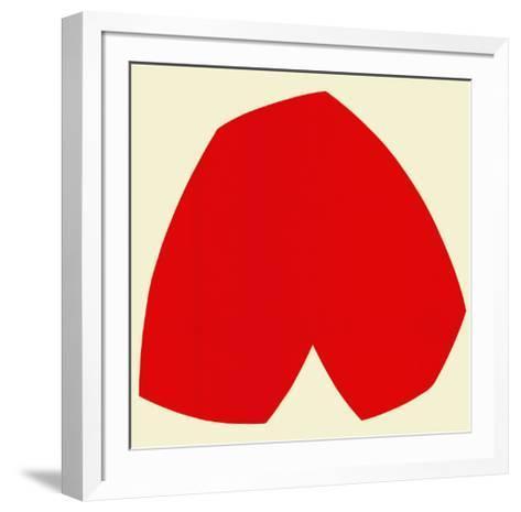 Red White, c.1962-Ellsworth Kelly-Framed Art Print