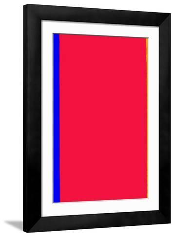 Who's Afraid of Red and Yellow?-Barnett Newman-Framed Art Print