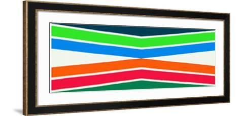 Zone Tropicale, c.1964-Kenneth Noland-Framed Art Print