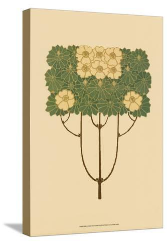 Arts and Crafts Tree I--Stretched Canvas Print
