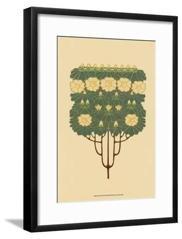 Arts and Crafts Tree IV--Framed Art Print