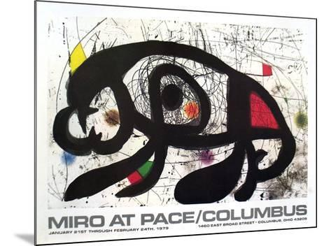 1979 at Pace Columbus-Joan Mir?-Mounted Collectable Print