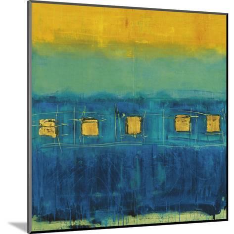 Blue Train-Anke Ibe-Mounted Art Print