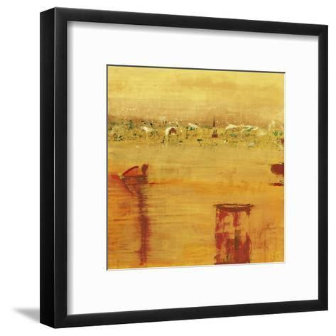 Orange Landscape-Rose Richter-armgart-Framed Art Print