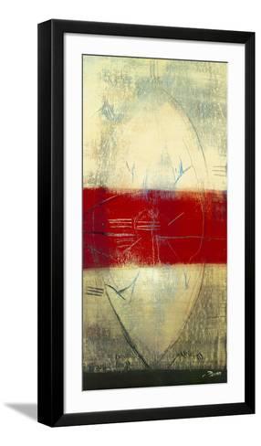 Red Lines I-Carole B?cam-Framed Art Print