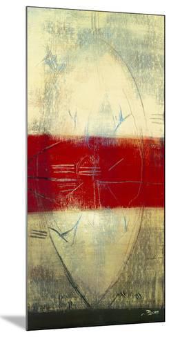 Red Lines I-Carole B?cam-Mounted Art Print