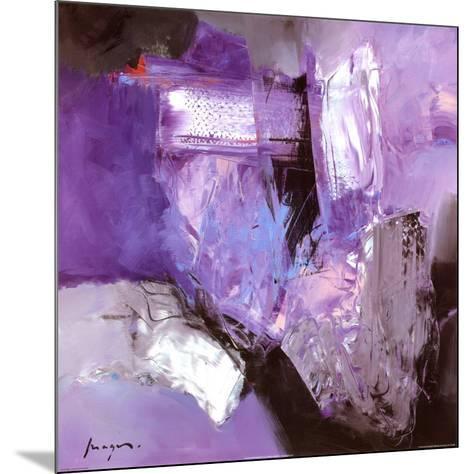 Abstract Variations IX-Pascal Magis-Mounted Art Print
