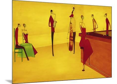 Bar Jazz-Thierry Ona-Mounted Art Print