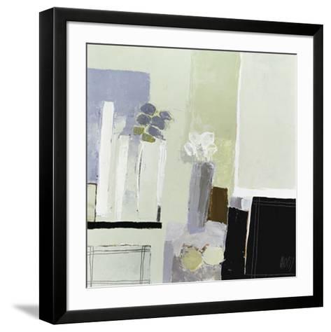 Arrangement of Two Bouquets-Christian Choisy-Framed Art Print