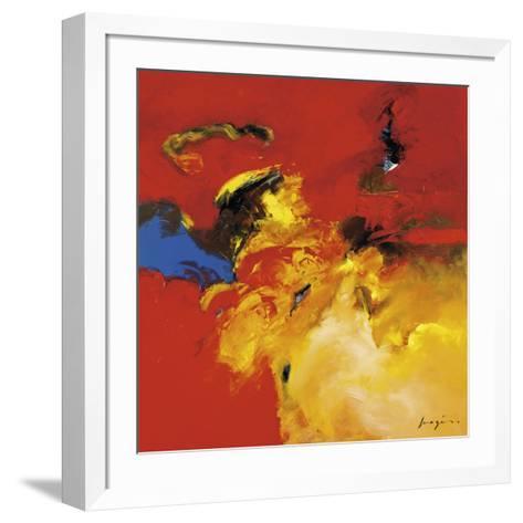 Red, Blue-Pascal Magis-Framed Art Print
