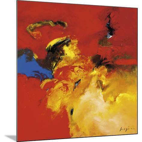 Red, Blue-Pascal Magis-Mounted Art Print