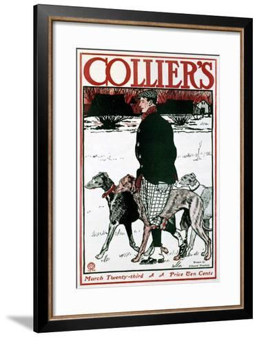March Colliers Greyhound--Framed Art Print