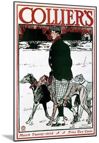 March Colliers Greyhound--Mounted Giclee Print