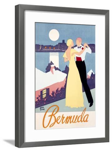 Bermuda-Adolph Treidler-Framed Art Print