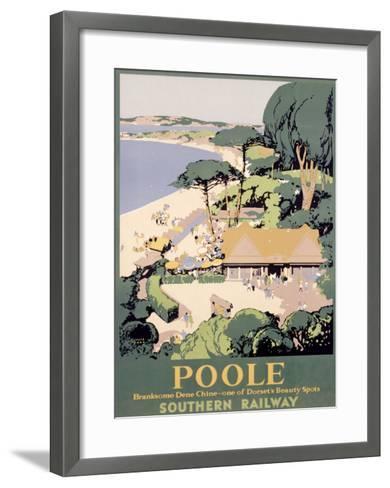 Southern Railway, Poole--Framed Art Print
