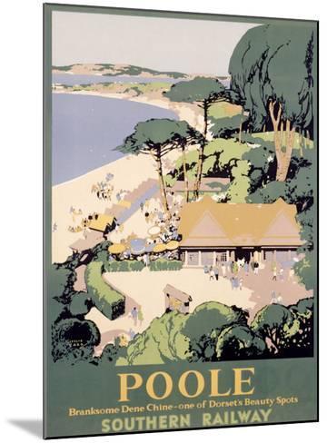 Southern Railway, Poole--Mounted Giclee Print